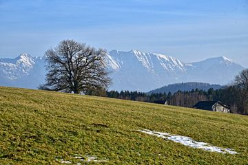 Alpenblick - Bayern von Peter Bergmann