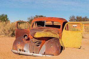 Oldtimer in de woestijn
