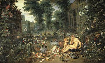 Die fünf Sinne: Riechen - Brueghel