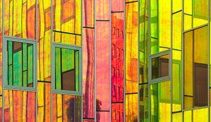 L'arc en Ciel kleuren en reflecties van