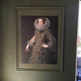 Kundenfoto: Königin Elizabeth von Bourbon, auf nahtlose tapete