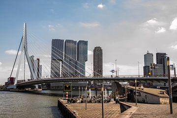 Skyline Rotterdam van Rob Altena