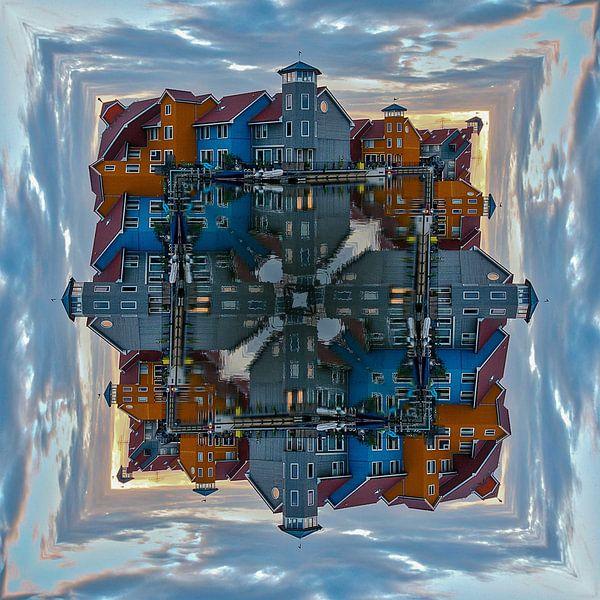 Reitdiephaven Groningen Kunst Nederland van Jos Snijder