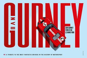 Dan Gurney Tribute von Theodor Decker