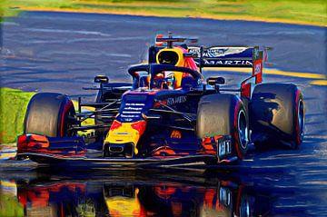 Season 2019 - Max Verstappen #33 von Jean-Louis Glineur alias DeVerviers
