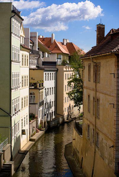 Stadsgezicht in Praag