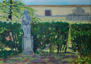 Toscaans Landschap van Antonie van Gelder Beeldend kunstenaar
