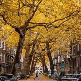 Lomanstraat in Herfst #2 van Roger Janssen