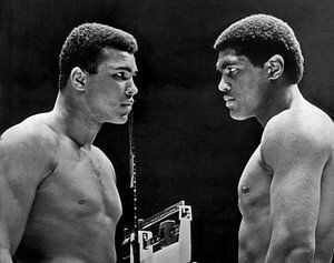Muhammad Ali with Ernie Terrell