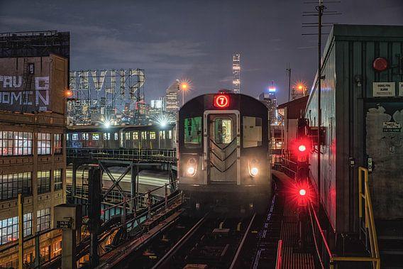 New York metro sur Reinier Snijders
