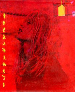 Brigitte Bardot - Happy Love - Typografie von Felix von Altersheim