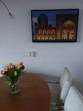 Kundenfoto: Registan Samarkand von Jeroen Kleiberg, auf leinwand