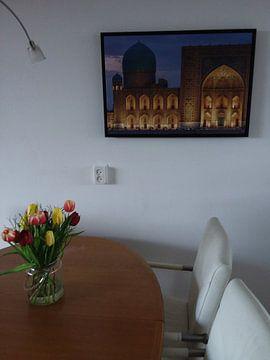 Klantfoto: Registan Samarkand van Jeroen Kleiberg