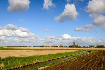Schilderachtig landschap Goeree-Overflakkee von Ruud Morijn