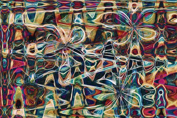 Flower Fly van GOOR abstracten