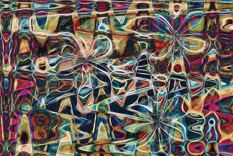 Blumenfliege von GOOR abstracten