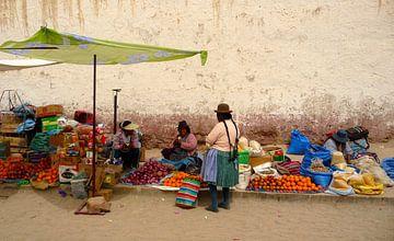 'Groentemarkt', Bolivia van Martine Joanne