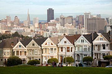 De Geschilderde Dames, San Francisco, Californië van Peter Schickert