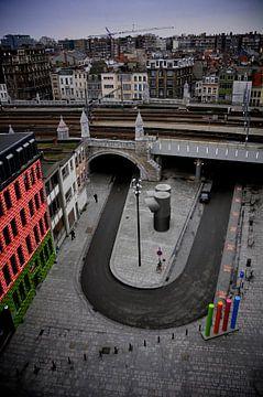 Kleurrijk Antwerpen von Dennis Beentjes