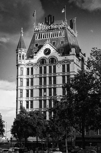 Witte Huis in Rotterdam | Zwart-Wit van