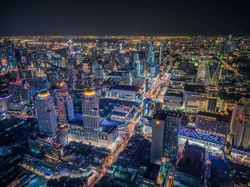 Bangkok by night van Maarten Jacobi