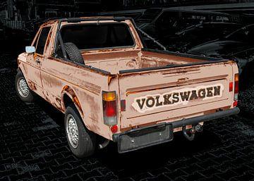 VW Caddy 1 (Type 14D) van aRi F. Huber