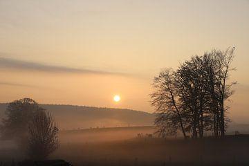 Ardense zonsopgang van Geert Neukermans