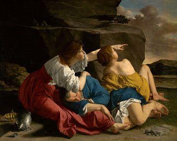 Lot und seine Töchter, Orazio Gentileschi