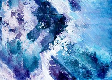 Abstract Division - Bleu sur Aimelle ML