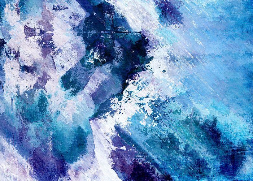 Abstract Division - Bleu van Aimelle ML