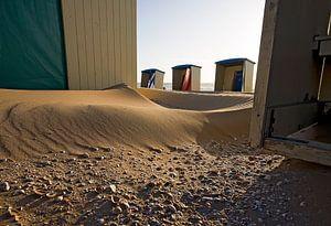 strandhuisjes met schelpen