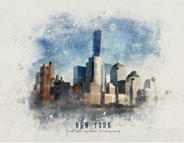 New York Manhattan sur Christa van Gend