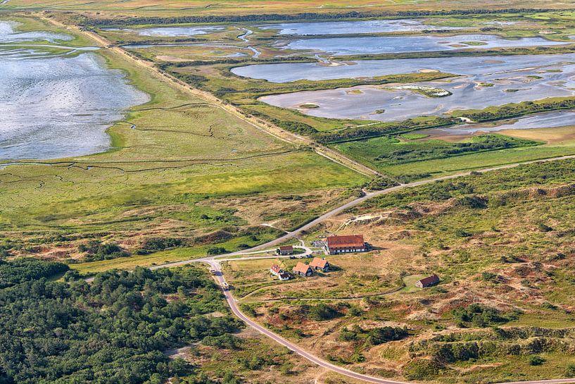Het Posthuys en Kroon's Polders Vlieland van Roel Ovinge