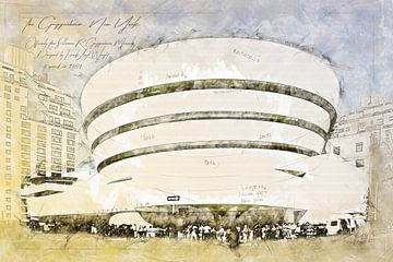 Guggenheim Museum, New York von Theodor Decker
