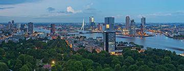 Panorama Rotterdam / Euromast / Augustus 2013 von Rob de Voogd / zzapback