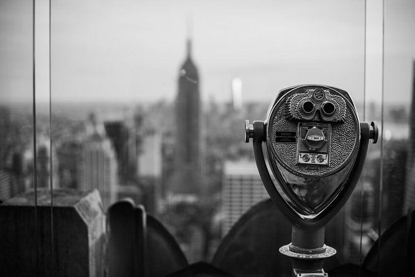 New York City Skyline van Dennis Wierenga