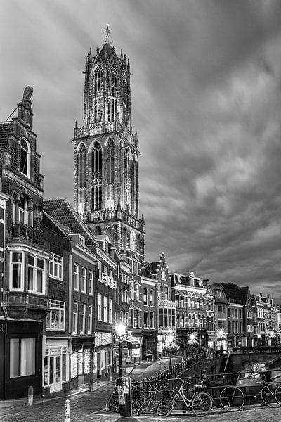 Utrecht - Vismarkt ZwartWit 02 van Thomas van Galen