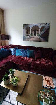 Klantfoto: De vervallen ingang van Beelitz (gezien bij vtwonen)