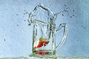 Splashing Strawberry