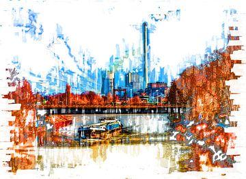 Energiecentrale in het Ruhrgebied van Johnny Flash