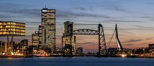 Torens en bruggen: Maastoren, Erasmusbrug en De Hef