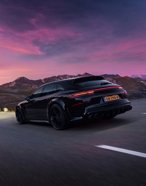Techart Grand GT Porsche Panamera Turbo S E Hybrid DJ La Fuente van Gijs Spierings