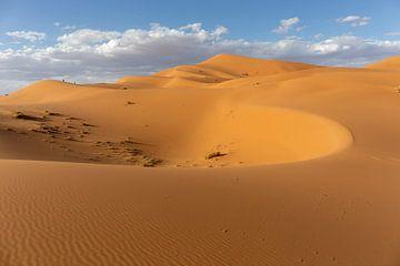 Sahara-Wüste, sehr Chebbi-Dünen. Merzouga, Marokko, Afrika von Tjeerd Kruse
