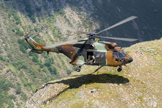 Spaanse Landmacht AS532 Cougar