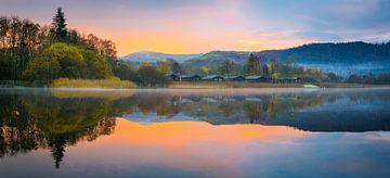 Morgensonne über dem Derwentwater, Seengebiet von Rietje Bulthuis