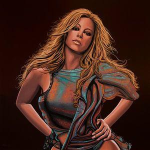 Mariah Carey Schilderij
