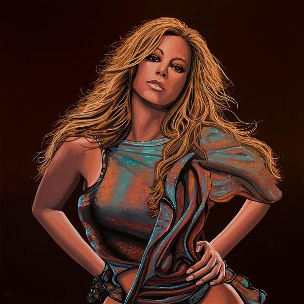 Mariah Carey Schilderij van Paul Meijering