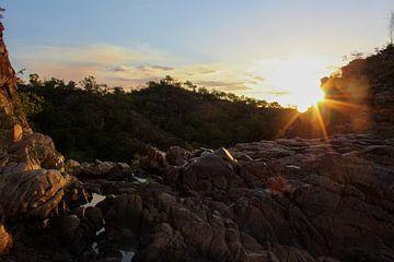 Romantischer Sonnenuntergang von Nadia Langenberg