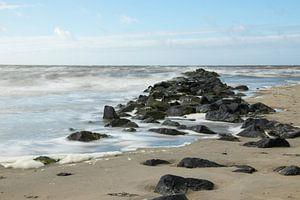 Rough sea sur Nicole van As