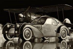 Bugatti 57-SC Atlantic de legendarische sportwagen